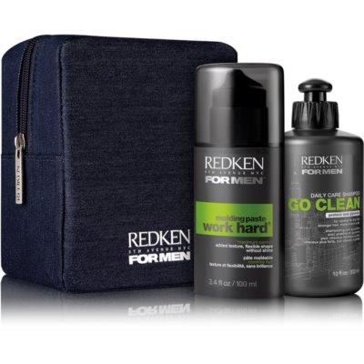 Redken For Men Go Clean kozmetički set I.