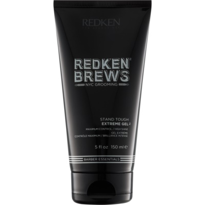 Redken Brews gel ultra-forte per acconciature salde e luminose