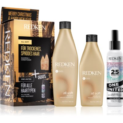 Redken All Soft Gift Set I. (For Dry And Brittle Hair)