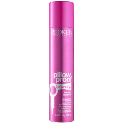 Redken Pillow Proof Blow Dry shampoing sec rafraîchissant pour absorber l'excès de sébum