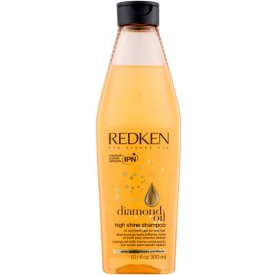 гелевий шампунь для тьмяного волосся