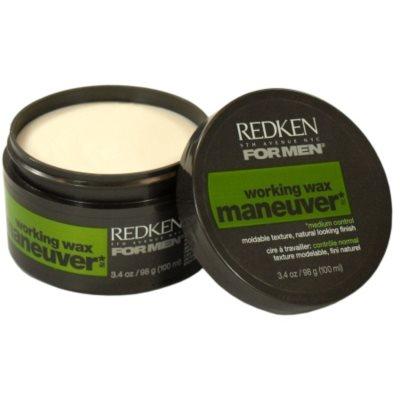 Redken Maneuver cera de cabelo fixação média