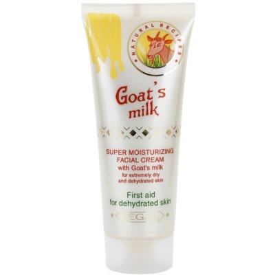 feuchtigkeitsspendende Gesichtscreme mit Ziegenmilch
