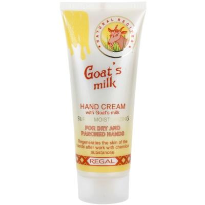krém na ruce s kozím mlékem