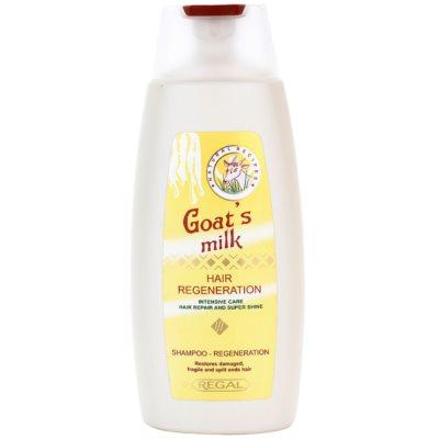šampon s kozím mlékem