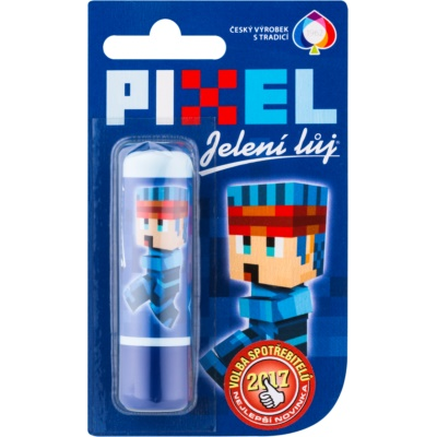 Regina Pixel Deer Tallow Lip Balm For Kids