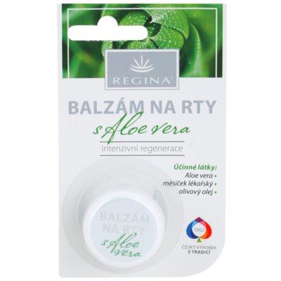 feuchtigkeitsspendendes Lippenbalsam mit Aloe Vera