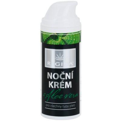 Gesichtscreme für die Nacht mit Aloe Vera
