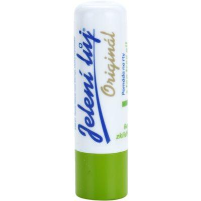 Lippenbalsam mit Teebaumöl und Zitronenmelisse