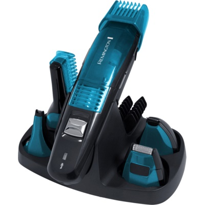 Remington Vacuum  PG6070 Facial and Body Hair Trimming Kit 5 In 1
