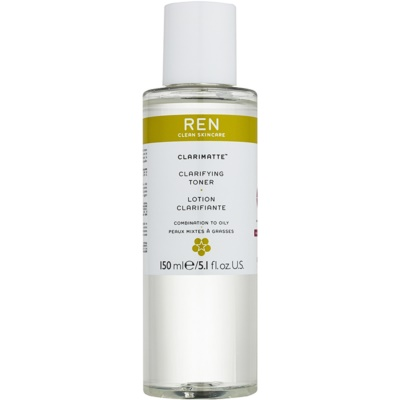 REN Clarimatte™ Cleansing Tonic For Combination To Oily Skin