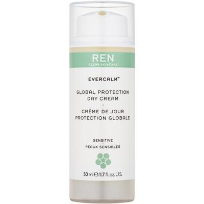 REN Evercalm Beschermende Dagcrème  voor Gevoelige Huid