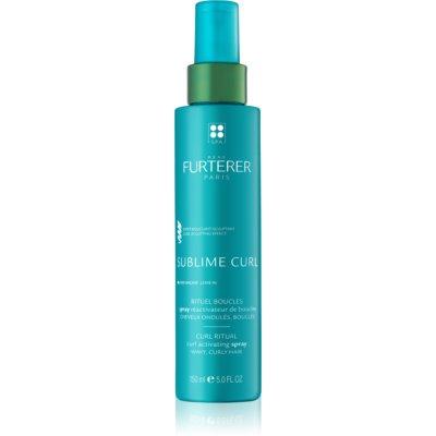 René Furterer Sublime Curl spray activateur pour cheveux bouclés