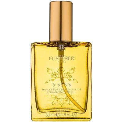 posilující suchý olej na tělo a vlasy