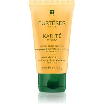 hydratační šampon pro lesk suchých a křehkých vlasů