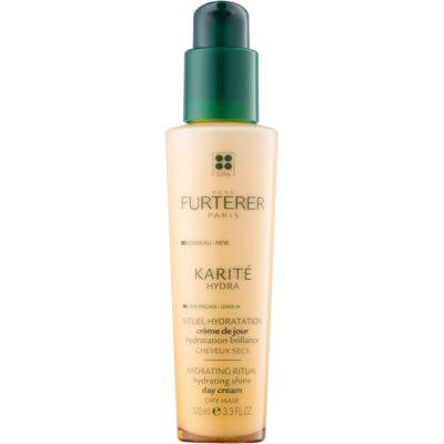 hydratační péče pro lesk suchých a křehkých vlasů