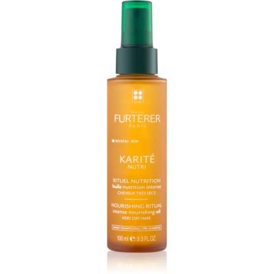 olio nutriente intenso per capelli molto secchi