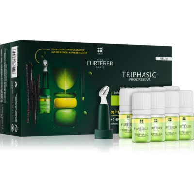 Rene Furterer Triphasic Progressive Comprehensive Treatment for Chronic Hair Loss