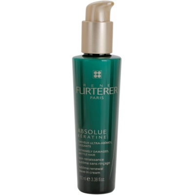 bezoplachový obnovujúci krém pre extrémne poškodené vlasy