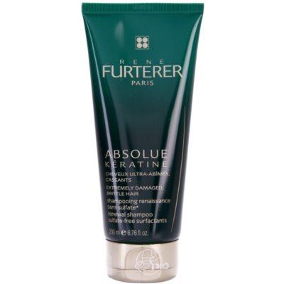 obnovující šampon pro extrémně poškozené vlasy