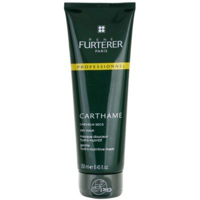 hydratační a vyživující maska pro suché vlasy