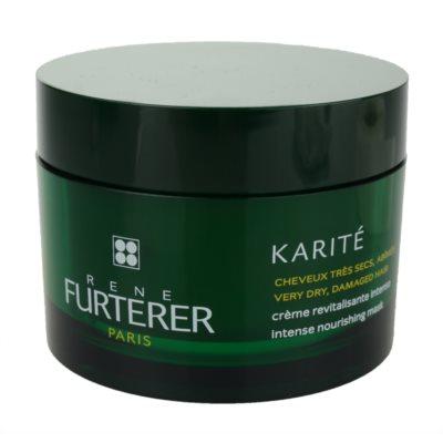 René Furterer Karité Närande mask För mycket torrt och skadat hår