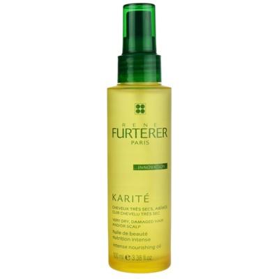 olje za suhe in poškodovane lase