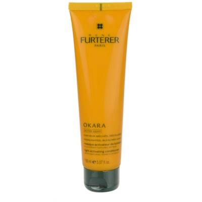 máscara nutritiva para cabelo loiro e com madeixas