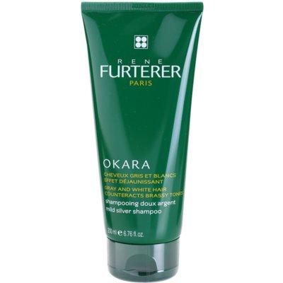 nežen srebrn šampon nevtralizira rumene odtenke