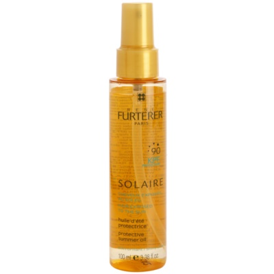Protective Oil For Hair Damaged By Chlorine, Sun & Salt Effects