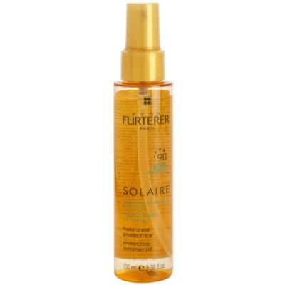 Rene Furterer Solaire защитно масло за коса увредена от слънце, хлор и солна вода