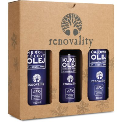Renovality Original Series kosmetická sada VII. (proti stárnutí pleti)