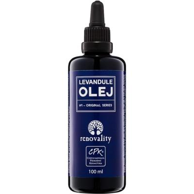 Körpermassageöl aus Lavendel