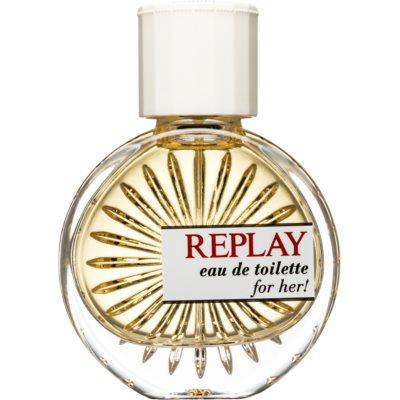 Replay for Her Eau de Toilette for Women 40 ml
