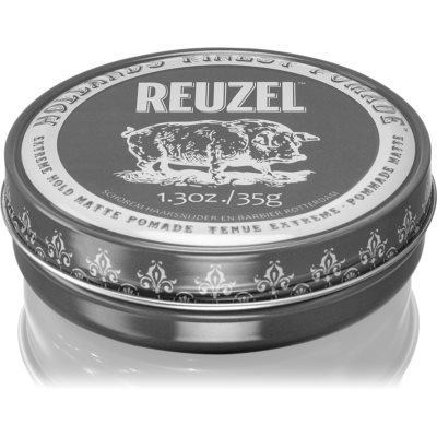 Reuzel Hollands Finest Pomade Extreme Hold Hair Pomade with Matte Effect
