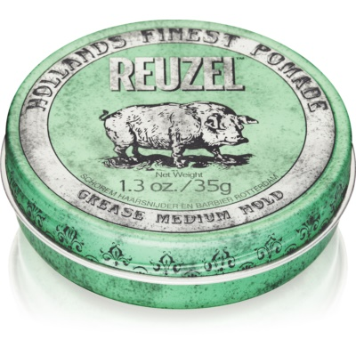 Reuzel Green Hair Pomade Medium Firming