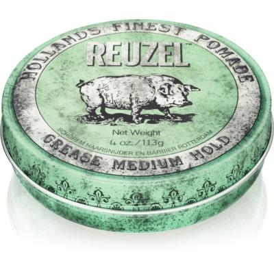 Reuzel Green pomada de cabelo fixação média
