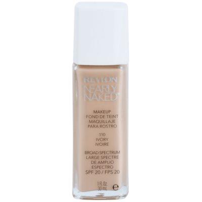 maquillaje líquido para maquillaje desnudo