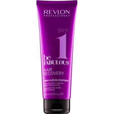 oczyszczający szampon z efektem otwierania łuski włosa