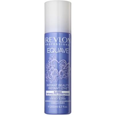 Revlon Professional Equave Blonde acondicionador en spray sin enjuague para cabello rubio