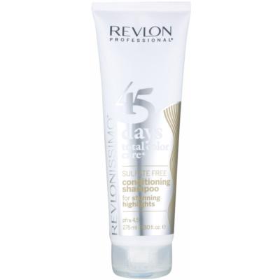szampon i odżywka 2 w 1 dla włosów z pasemkami i blond