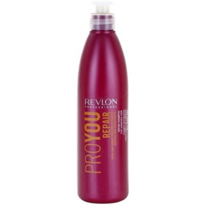 šampon pro poškozené, chemicky ošetřené vlasy