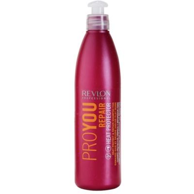 ochranný šampon pro tepelnou úpravu vlasů