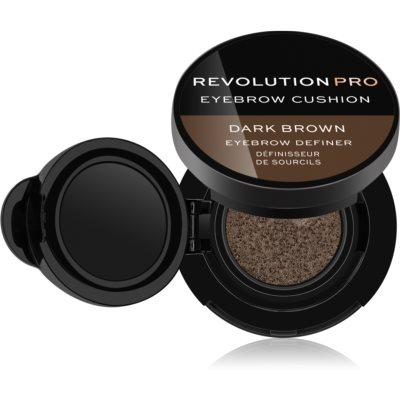 Revolution PRO Eyebrow Cushion  відтінок Dark Brown 2,2 гр