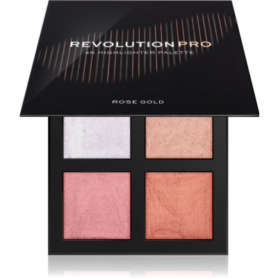 Revolution PRO 4K Highlighter Palette палитра с озарители