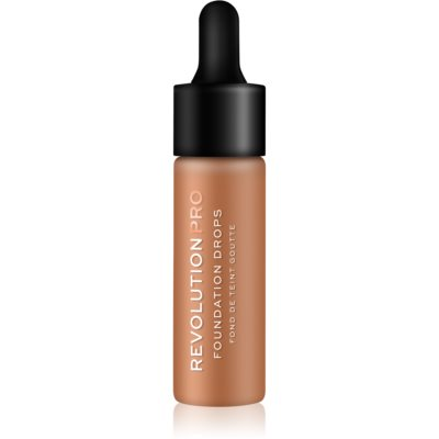 Revolution PRO Foundation Drops base líquida com pipeta