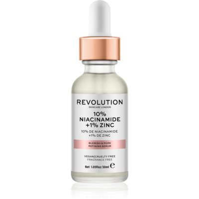 Revolution Skincare 10% Niacinamide + 1% Zinc sérum na rozšírené póry