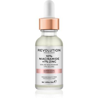 Revolution Skincare 10% Niacinamide + 1% Zinc сироватка для розширених пор