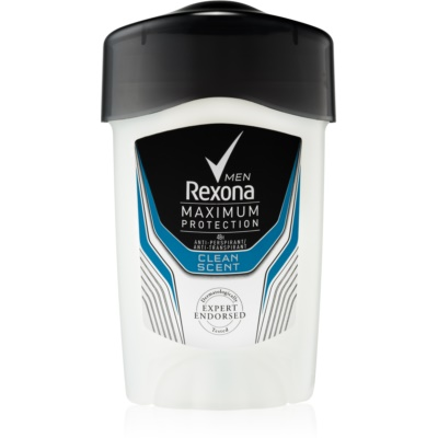 Rexona Maximum Protection Clean Scent antitranspirante en crema