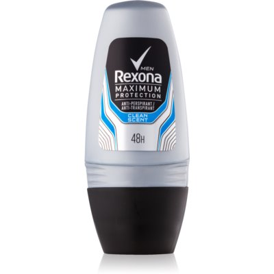 Rexona Maximum Protection Clean Scent Roll-On Antiperspirant for Men